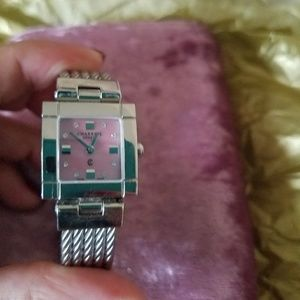 charriol Accessories - Authentic pink dial charriol watch